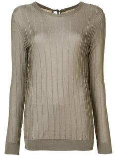легкая блуза с ребристой фактурой Nina Ricci