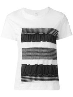 футболка с панельным дизайном Ys Y`s