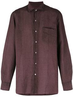 рубашка с узором в виде кармана Massimo Alba