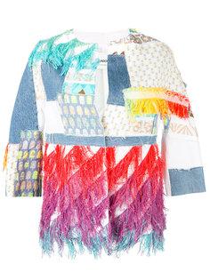 куртка в стиле пэчворк  Ava Adore