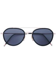 солнцезащитные очки-авиатор  Thom Browne