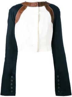 Ivoire cropped jacket Loewe