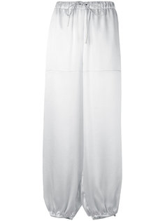 брюки свободного кроя Emporio Armani