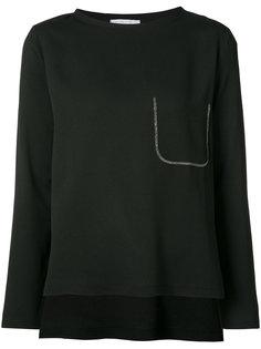 блуза с имитацией кармана Fabiana Filippi
