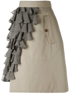ruffle panel skirt Kolor