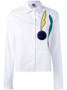 embroidered patch shirt IM Isola Marras