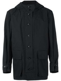 пальто с капюшоном Lemaire