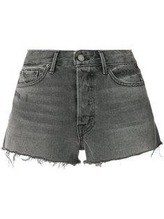 джинсовые шорты с необработанными краями Grlfrnd