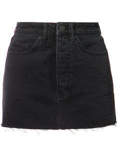 джинсовая мини-юбка Ksubi
