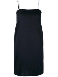 платье с декорированными лямками Gianluca Capannolo