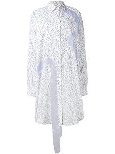 платье-рубашка с цветочным принтом  Natasha Zinko