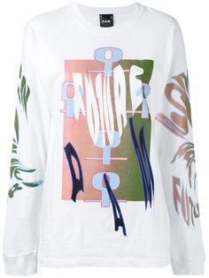 tribal print T-shirt  Pam Perks And Mini