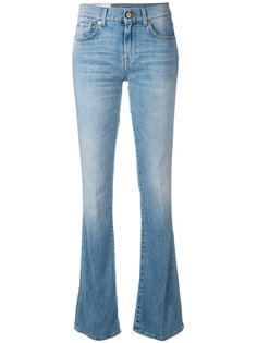 джинсы клеш  7 For All Mankind