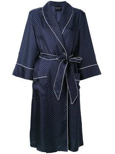 платье-пижама в горошек  Erika Cavallini