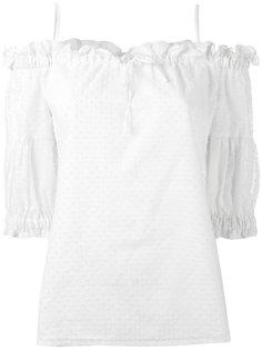блузка с заниженной линией плеч Vilshenko