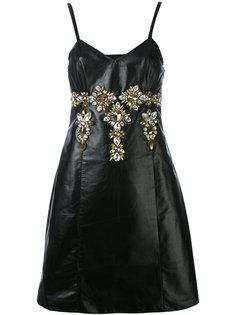 платье с отделкой  Stefano De Lellis
