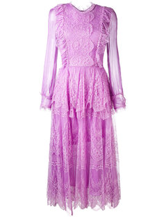 платье-миди Mousseline Maria Lucia Hohan