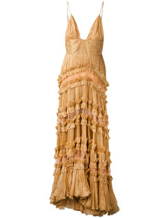 кружевное платье  Maria Lucia Hohan