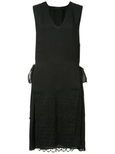 платье шифт с аппликацией из кружева Jenni Kayne