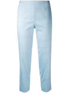 укороченные брюки с красочными брызгами Piazza Sempione