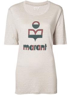 футболка с логотипом Isabel Marant Étoile