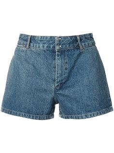 джинсовые шорты с высокой талией A.P.C.