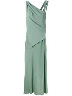 вечернее платье на одно плечо Erika Cavallini