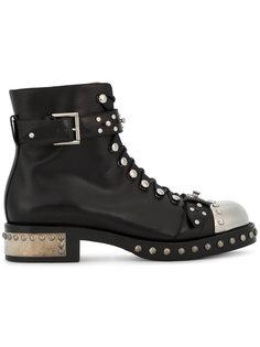 ботинки с заклепками Alexander McQueen
