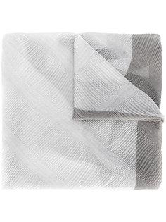 фактурный шарф Armani Collezioni