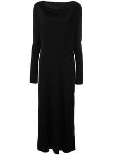 платье с вырезом на спине Andrea Yaaqov