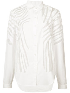 блузка с декоративными полосками Maiyet