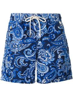 шорты для плавания с узором пейсли Polo Ralph Lauren