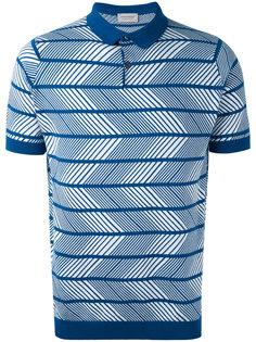 футболка-поло в полоску John Smedley