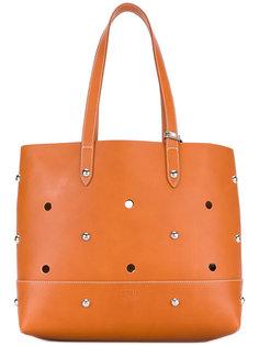 сумка-тоут с заклепками Sonia By Sonia Rykiel