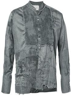 рубашка с необработанными краями Greg Lauren