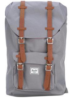 рюкзак с кожаными ремешками Herschel Supply Co.
