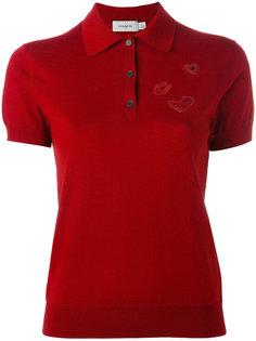 футболка-поло с короткими рукавами Coach