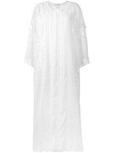 кружевное платье шифт  Oscar de la Renta