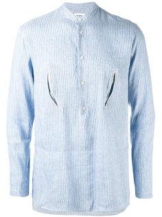 полосатая рубашка с прорезями Umit Benan