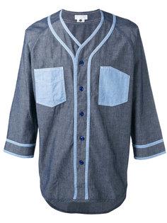 бейсбольная рубашка с нагрудными карманами Ganryu Comme Des Garcons
