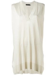 sleeveless V-neck sweater Calvin Klein Collection