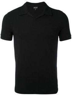 облегающая рубашка-поло Giorgio Armani