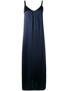 платье шифт с V-образным вырезом Vince