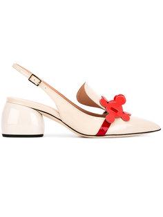 туфли Apex с ремешком на пятке Anya Hindmarch