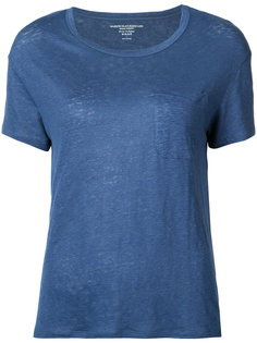 футболка с накладным карманом  Majestic Filatures