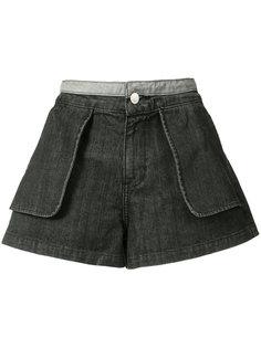 джинсовые шорты с карманами Opening Ceremony
