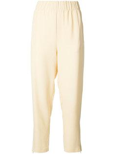 брюки с высокой талией Ganni