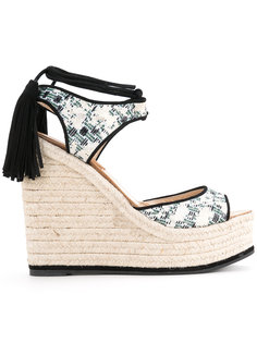 patterned wedge sandals Paul Andrew