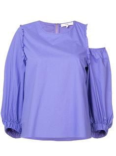 асимметричная блуза Tibi
