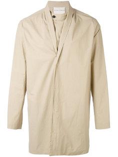 пальто с потайной застежкой Stephan Schneider